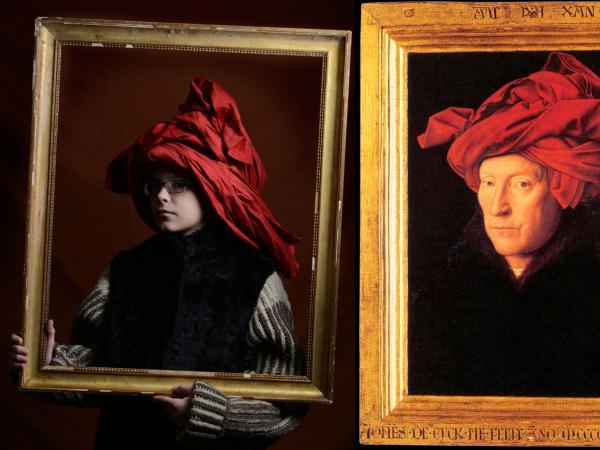 Jan Van Eyck_L'Homme au turban rouge