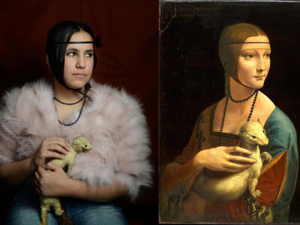 Vinci, La Dame à l'herrmine