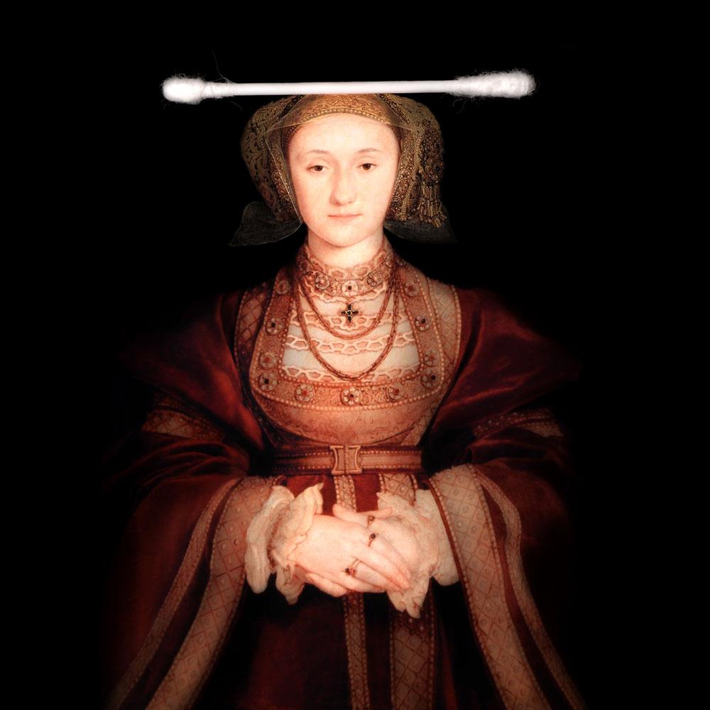 Ladies and Gentlemen_Hans Holbein_Portrait de Anne de-Clèves