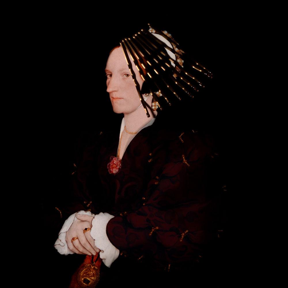 Ladies and Gentlemen_Hans-Holbein_Portrait de Margaret Lee