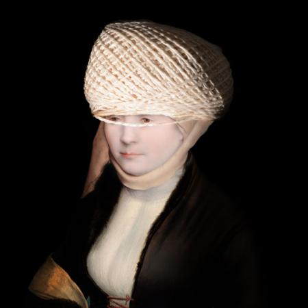 Ladies and Gentlemen_Hans_Holbein_Portrait d'une femme