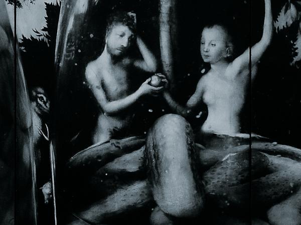 Adam et Eve bleu